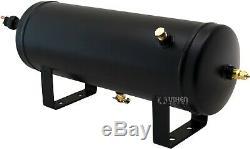 1,5 Gal Réservoir D'air / 150 Psi Compresseur Système Embarqué Kit F / Train Corne 12v Vxo8815