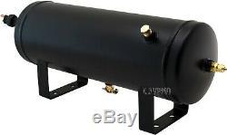 1,5 Gal Réservoir D'air / 200 Psi Compresseur Système Embarqué Kit F / Train Corne 12v Vxo8315