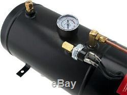 1 Gal Réservoir D'air / 150 Psi Système Compresseur Embarqué Kit Pour Le Train Corne 12v Vxo8210