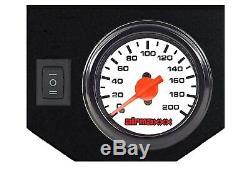 2007-18 Chevy 1500 Contrôle D'assistance Au Remorquage Par-dessus La Suspension De Sac Gonflable, Contrôle De Jauge Blanche