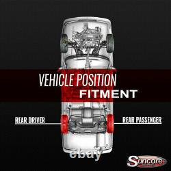 2007-2014 Chevy Tahoe Arrière Autoride Passive Air Shocks And Compressor Kit