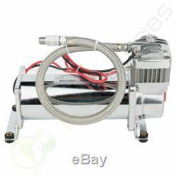 200 Psi Compresseur D'air De 1/4 Kit De Tuyau Pour Le Train Horns Bag Suspension 12v