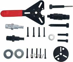 21pcs A / C Compresseur Embrayage Hub Deleter Kit Air Conditionné Puller Removal Tool