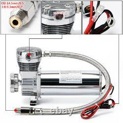 3/8 Npt 200psi 480c Sac À Air À Commande Unique Suspension Compressor Pump Ride Kit