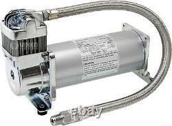 3gal En Aluminium Réservoir D'air / 200psi Système De Compresseur Kit F/train Horn 12v Vxo8330apro