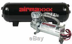 480 Chrome Air Ride Compresseur 3 Gallons De Vidange 165 À 200 De Commutateur