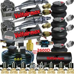 480 Compresseurs D'air 1/2 Vannes Air Ride 7 Switch Tank Switch 150 Psi