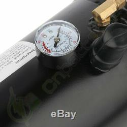 4 Trompette 150 Psi Système Air 150db + Air Horn Métal 12v Train Kit Pour Voiture Camion