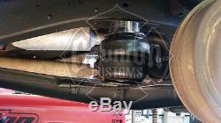 65-72 Chevy C10 Avant Sac Air Suspension Arrière Kit Boulonné Réservoir Compresseur Chocs