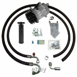 66-67 Lemans Gto V8 A/c Compresseur Upgrade Kit Ac Air Conditioning Stage 1