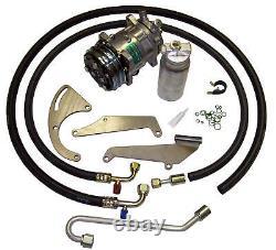 69-72 Chevelle Sb V8 A / C Compresseur Kit Ac Upgrade Climatisation Étape 1