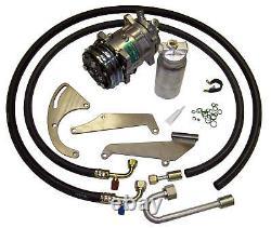 72 Chevrolet Gmc Truck Sb V8 A / C Compresseur Kit Ac Upgrade Climatisation Étape 1