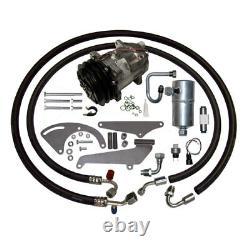 73-77 Corvette Sb V8 Ac Compresseur Kit Upgrade Climatisation 134a A / C Etape 1