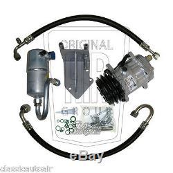 77-79 Firebird Olds 403 A / C Compresseur Upgrade Kit Etape 1 Climatisation Ac