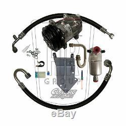 77-81 Pontiac Firebird V8 A / C Compresseur Upgrade Kit Stage 1 Climatisation Ac