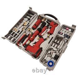 77pc Air Tool Kit Impact Gun Grinder Wrench Hammer Chisel Compresseur Die Storage