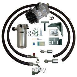 78-88 Cutlass Olds V8 Ac Compresseur Ac Kit Upgrade Climatisation Étape 1