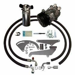 85-87 Chevy Gmc Truck Sb V8 Ac Compresseur Mise À Niveau Kit Climatisation Étape 1