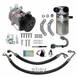 88-90 Chevrolet Gmc Truck V8 A / C Compresseur Kit Ac Upgrade Climatisation Étape 1