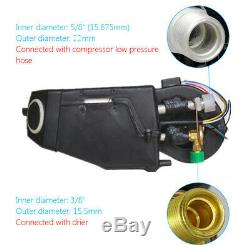 A / C Kit Underdash Compresseur Évaporateur Climatiseur 3 Vitesses 12v Universel