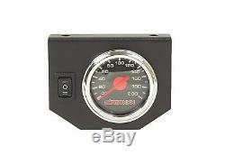 Aide Air Kit Jauge Noire Sur Le Contrôle Conseil 2018-19 Chevy 8 Lug Truck 2500 3500