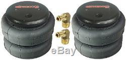 Aide Air Spring Kit No Drill Boulonnée 2001 2010 Gmc Chevy 3500 Niveau De Charge