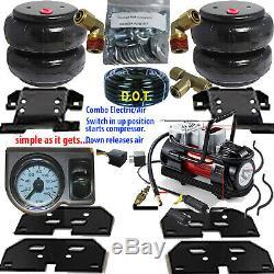 Air Assistance Au Remorquage Niveau De Charge 2003 2013 Dodge Ram 3500 -compresseur-gauge-relais