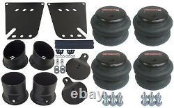 Air Ride Kit S'adapte 58-64 Valves Impala 7 Switch 580 Chrome Air Compressors & Tank
