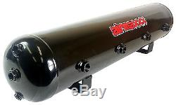 Airmaxxx 480 Dual Chrome Compressors Kit De Suspension De Coussin Gonflable De Réservoir De 200 Gallons