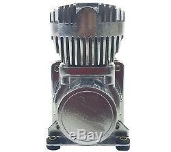 Airmaxxx Chrome 580 Compresseur D'air Et Avs Simple Kit De Câblage Du Compresseur