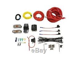 Airmaxxx Double Compresseur Kit De Fil Suspension Pneumatique Kit D'installation Convient Viair