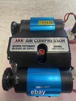 Arb, Ckmta24, Kit De Compresseur D'air Jumelé Powers Most Air Tools On-board 24v