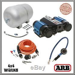 Arb Compresseur D'air Da4985 Ckmta12 Double High Output Deluxe Inflation Réservoir Kit