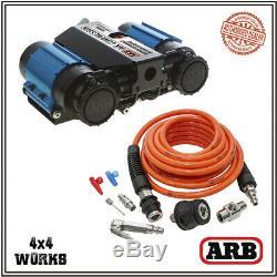 Arb Compresseur D'air Da4985 Ckmta12 High Output 12v Double Inflation Kit D'air
