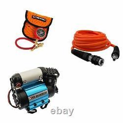 Arb Ultimate Wheeler Pack Hd Air Compressor & Pump Up Kit & E-z Déflateur De Pneus