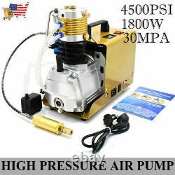 Autoshut 30mpa Air Compressor High Pressure Pump Kit 110v Electric Pcp 1.8kw, États-unis