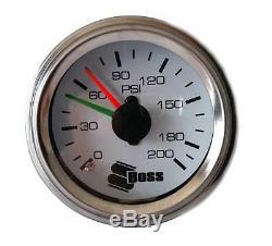 Boss Px01 Dans La Cabine Kit Sac À Suspension Pneumatique Jauge De Compresseur D'air Commutateurs Nouvelle Ligne