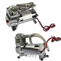 Brand New 12 Volt Carmocar Double Chrome 440c 200 Psi Compresseur D'air Kit 440c