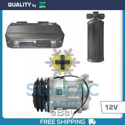 Brand New A / C Kit Universel Sous Dash Kit Compresseur Climatiseur 12v