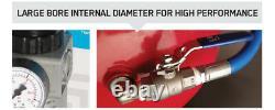 Burisch Régulateur Air Impact Clé 90l Compresseur D'air Hose High Flow Dock Kit