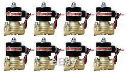 C10 Air Ride Suspension Kit Chevy 1963-72 3/8 Valves Blk 7 Interrupteur Sacs Réservoir 580