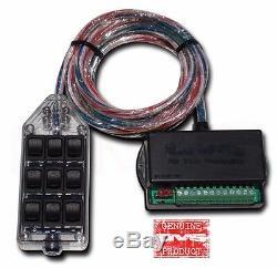 C10 Suspension 4 Link Compresseurs Am400 Sacs 1/2 Vannes 9 Switch Box Effacer