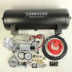 Carmocar Medium Duty Bord Système Compresseur D'air 12v Avec 2,5 Gallons