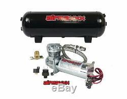 Chrome 480 Compresseur D'air Réservoir 3 Gallons Drain D'eau 150 Sur 180
