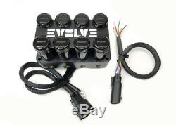 Complete Air Ride Suspension Kit 73-87 Gm C10 Evolve Manifold Sacs 480 Noir