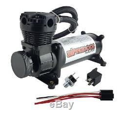 Compresseur D'air 480 Noir 3 Gallons De Vidange De L'eau Du Réservoir D'air 165 Sur 200 Interrupteur