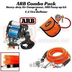 Compresseur D'air Arb Ultimate Wheeler Pack Hd, Dégonfleur Et Kit De Pompage 4x 4x