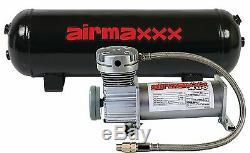 Compresseur D'air Étain 400 Airmaxxx 3 Gallons Réservoir D'air De Vidange 150 À 180 De Commutateur