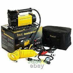 Compresseur T-max 12v Heavy Duty Adventurer 4x4 Air Pump + Arb Tyre Repair Kit