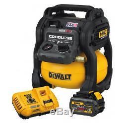 Dewalt Dcc2560t1 Flexvolt 60 Volts 2,5 Gallons Sans Fil Compresseur D'air Kit